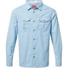 Craghoppers NosiLife Adventure II Longsleeved Shirt Men harbour blue